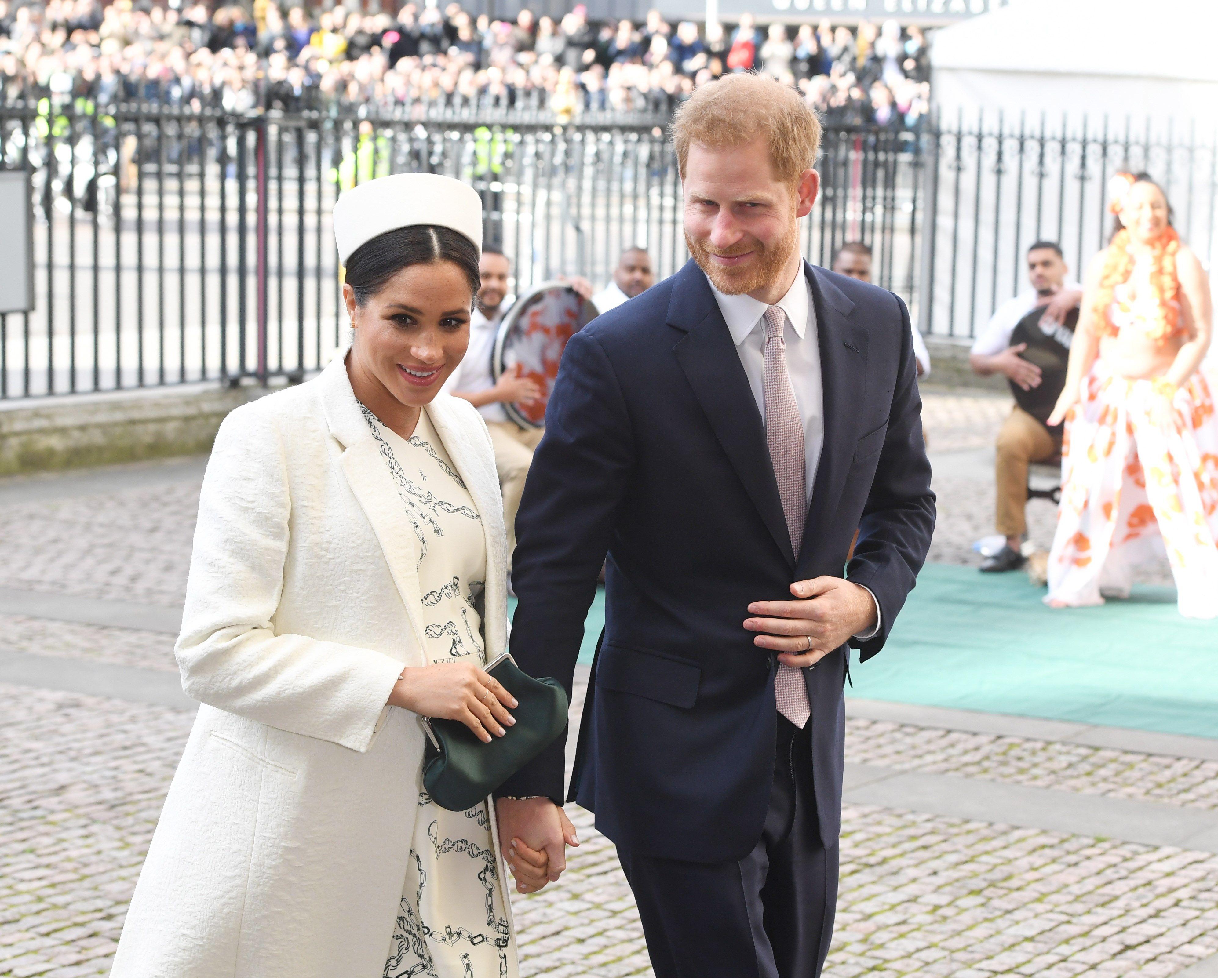 En marzo de 2019 la pareja anunció que tendrían una casa oficial independiente del Palacio de Kensington, pero poco después se emitió un comunicado que decía que la reina Elizabeth II de Inglaterra no había dado autorización para ese trámite. (Archivo)