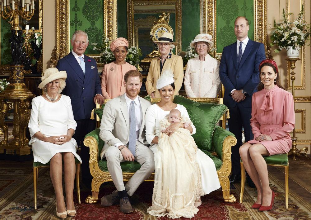 El 6 de julio, la pareja bautizó de su hijo Archie en el Castillo de Windsor, a las afueras de Londres. A la ceremonia privada asistieron familiares y amigos muy cercanos. (Archivo)