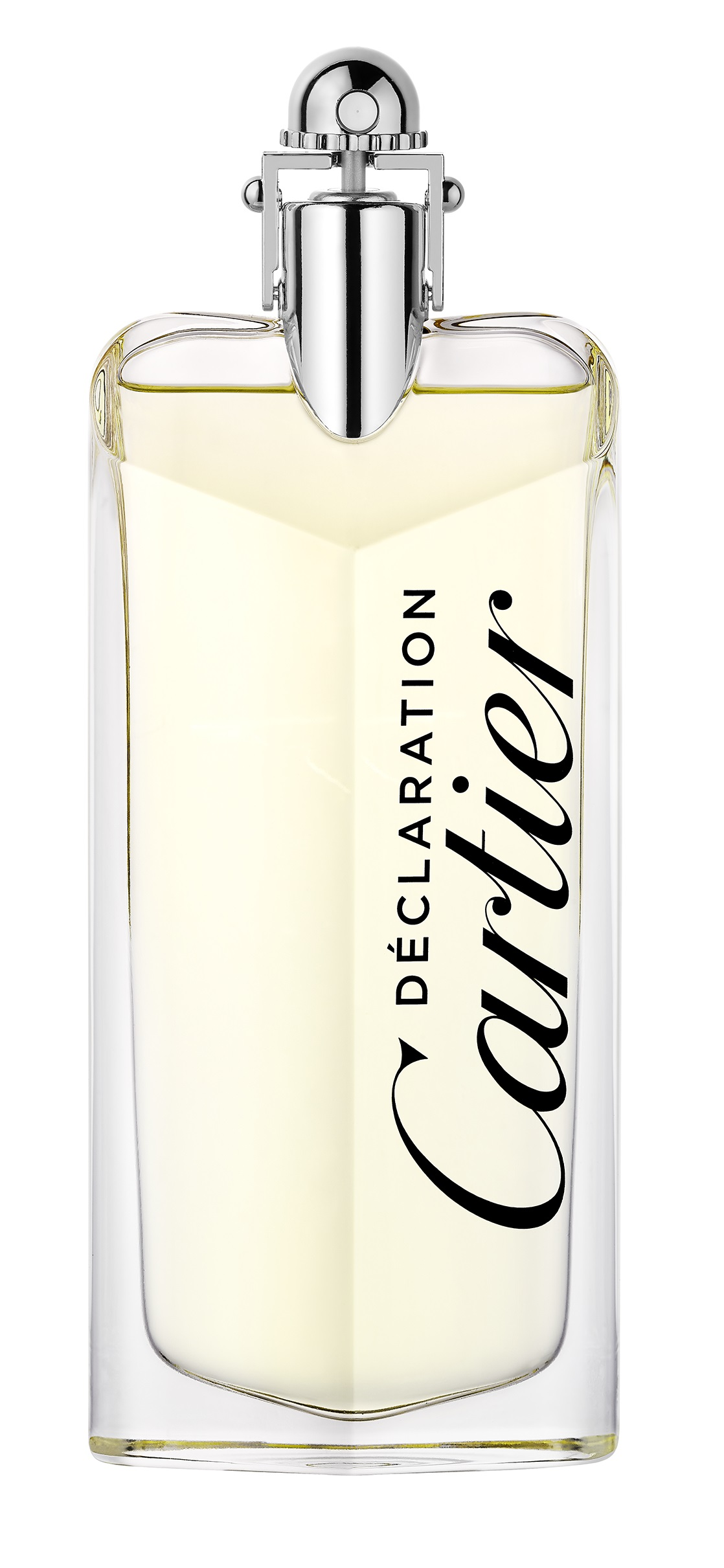 La versión de agua de tocador de la fragancia Déclaration. (Suministrada)