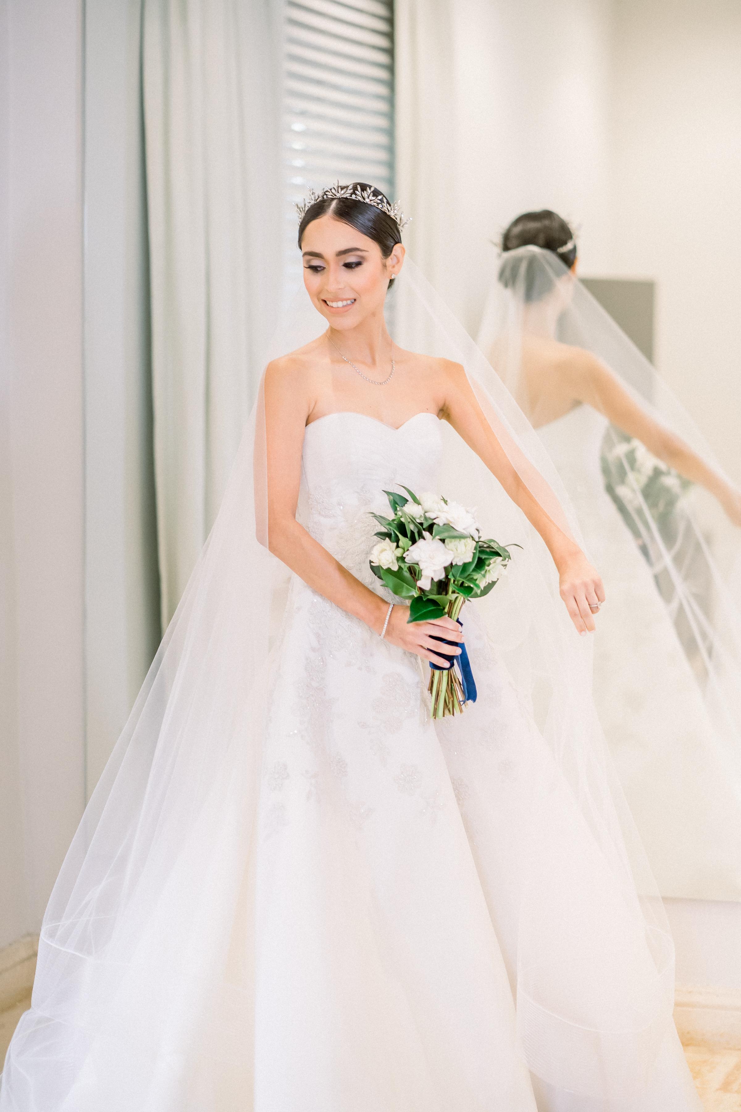 Arreglo de la novia: Pizón y Christopher Feliciano (Foto: José Ruiz Photography)