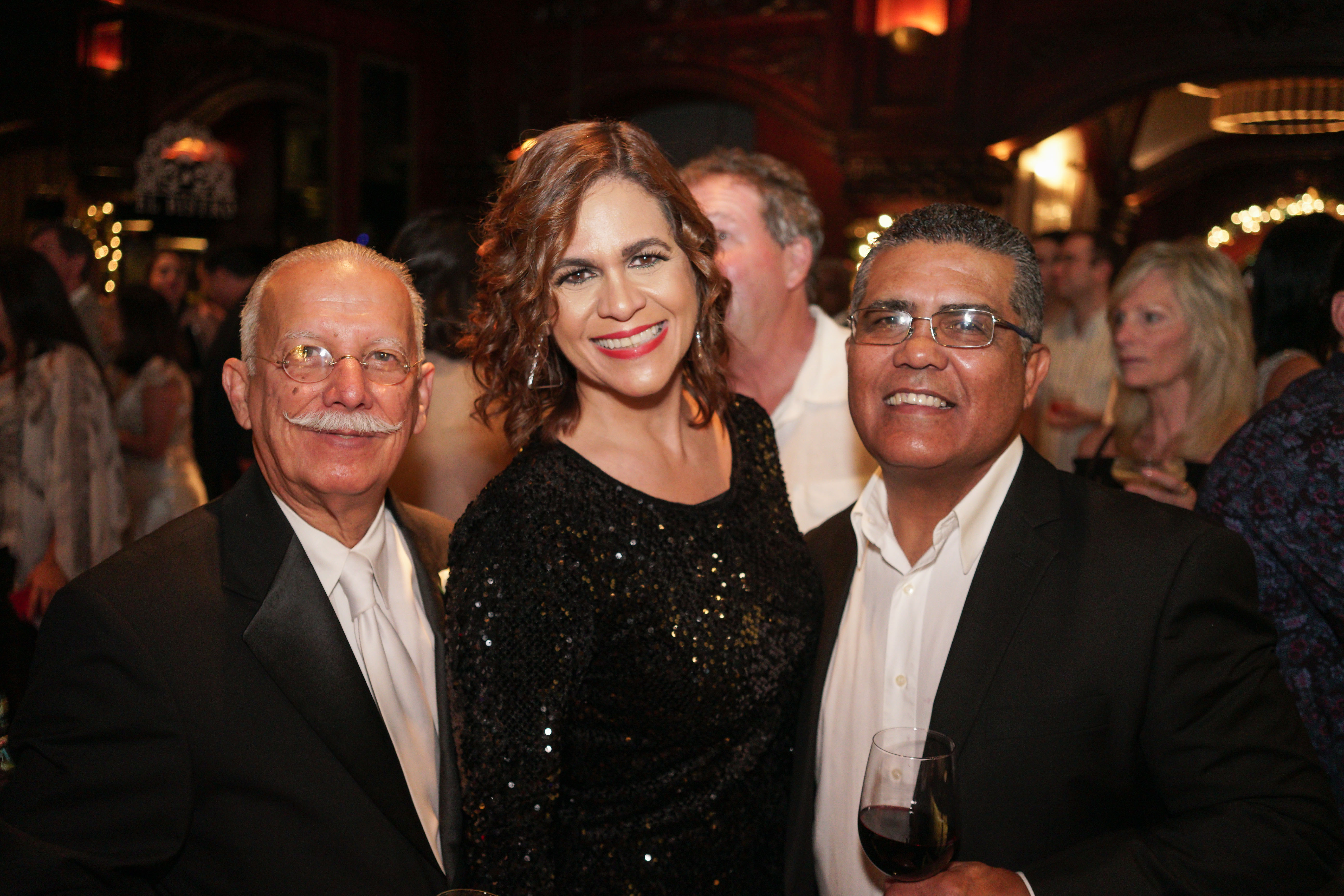 Rafael Soto, Waleska González y Luvi Gallejas. (Suministrada)