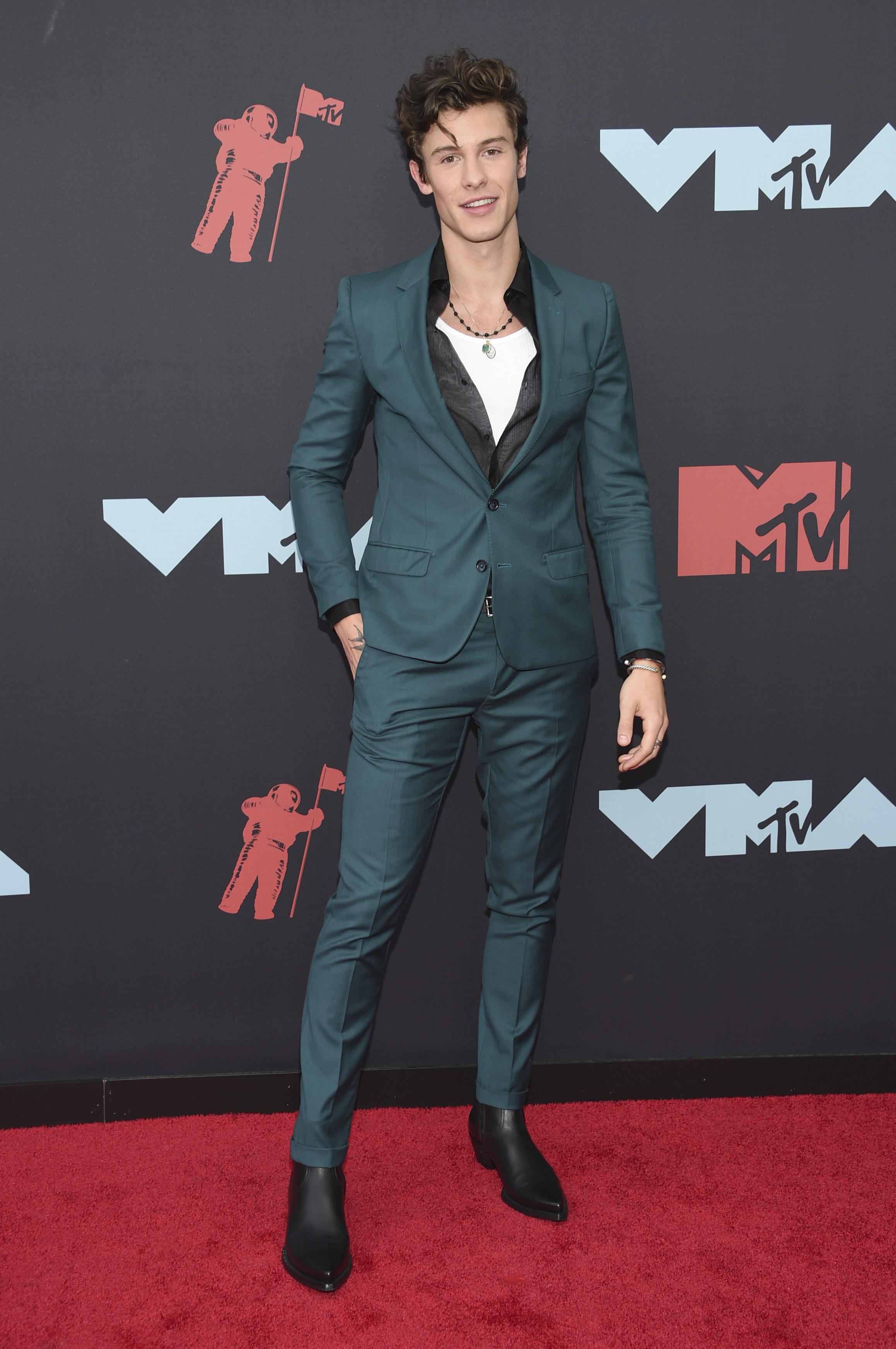 El cantante Sean Mendes (AP)