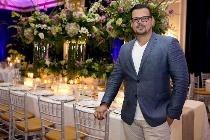 Jaasiel Pacheco, en la Festa di Primavera llevada a cabo en El San Juan Hotel.