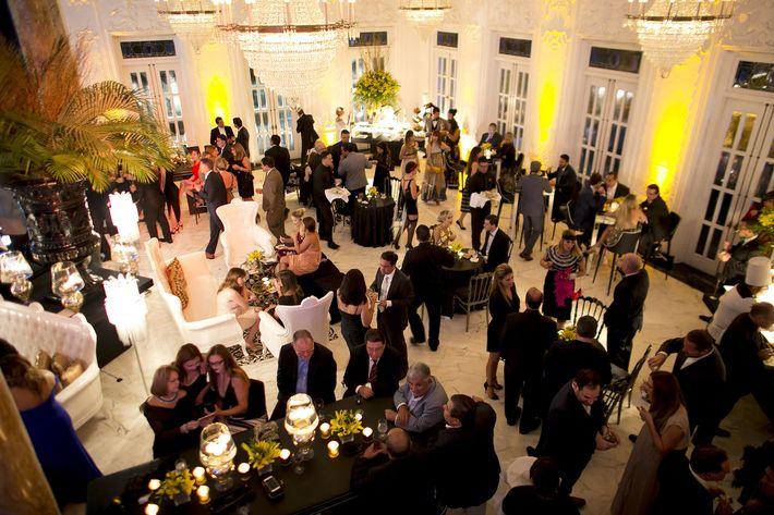 Panorámica del evento para celebrar el centenario del Antiguo Casino de Puerto Rico.