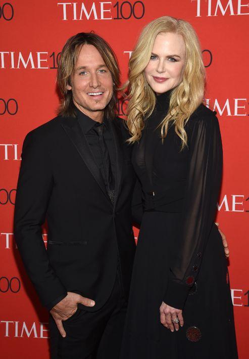 Keith Urban y Nicole Kidman. (AP)