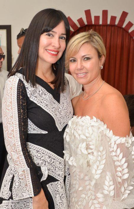 Perla Negrón y Lissette Gutiérrez. (Foto: Enid M. Salgado Mercado)