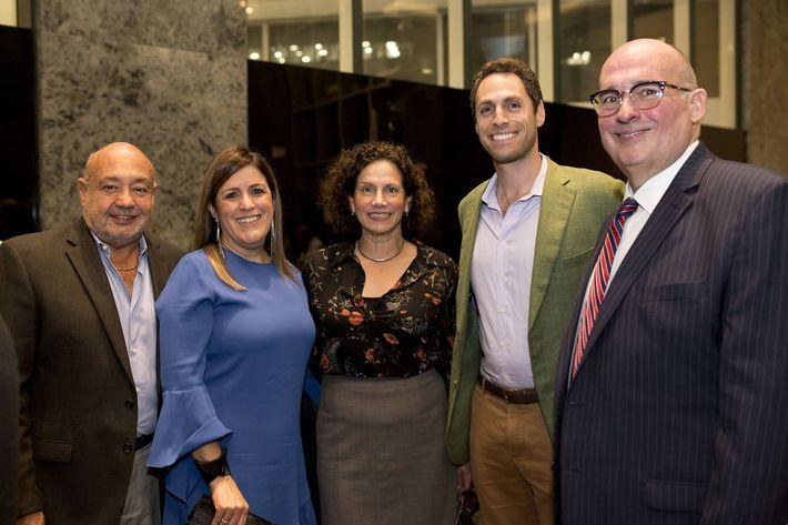 Adalberto Acosta, Laura López, María Juanarena, Alexander Borschow y Enrique Grau. Foto Xavier García.