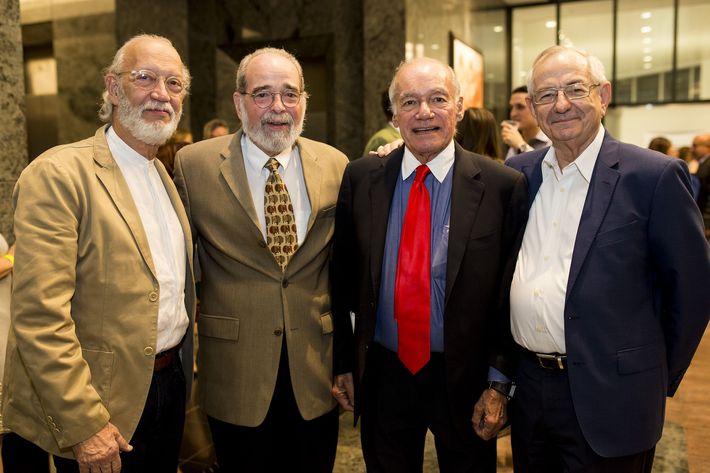 Dennis Simonpietri, Luis Agrait, Pablo I. Artieri y Alberto Varela. Foto Xavier García.