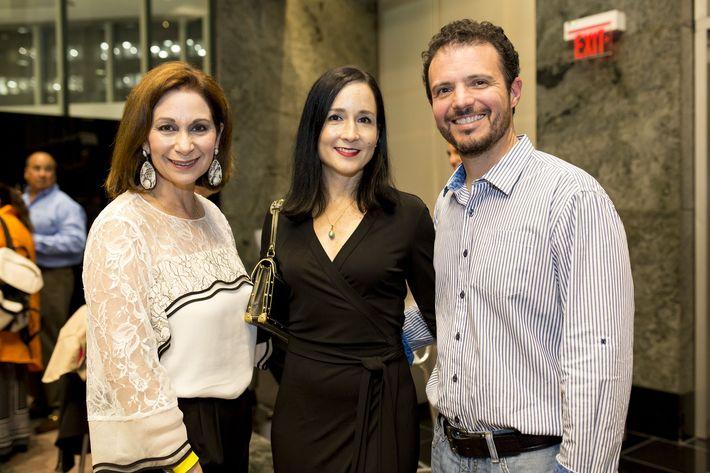 Ingrid Rivera, Bruni Lorenzo y Jairo Mellado. Foto Xavier García.