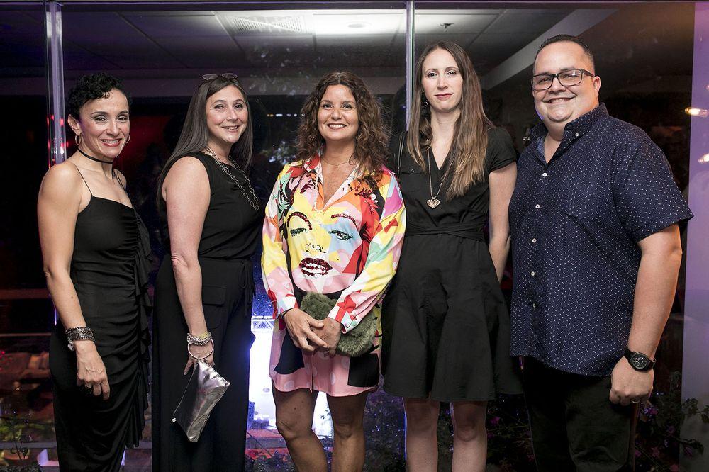 Sandra Rosario, Leslie Burden, Lili Sánchez, Nadia Pagán y Mizael Morales. (Foto: Suministrada)