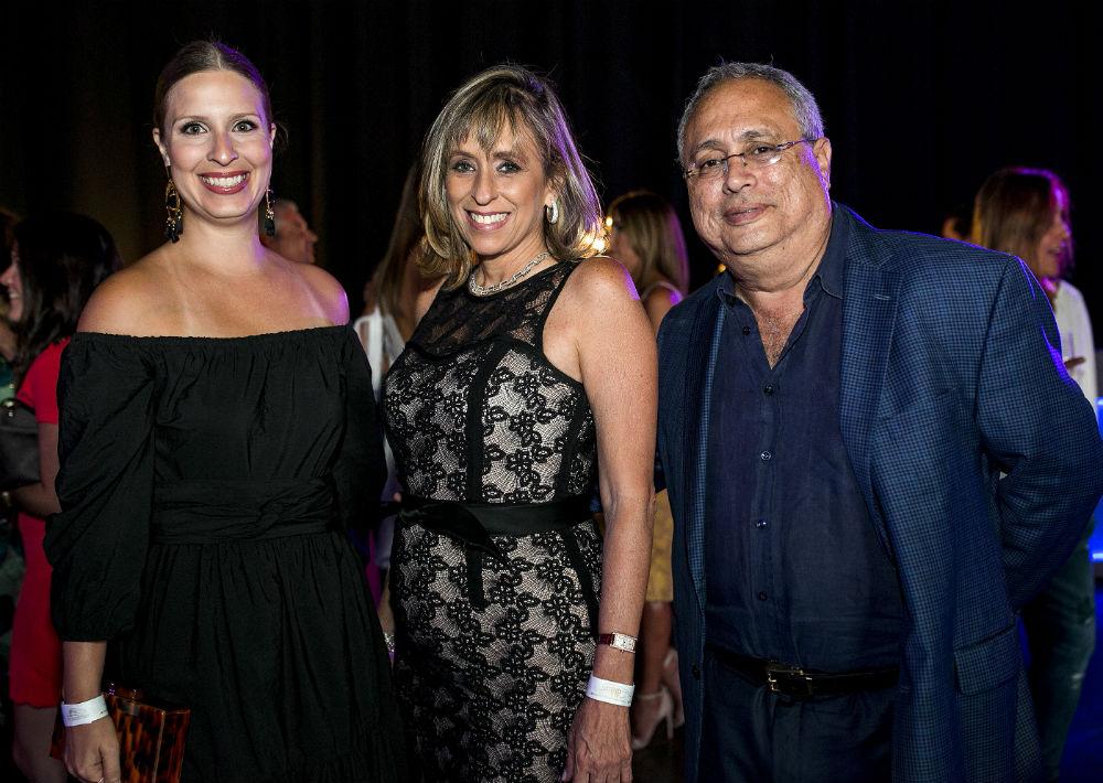 Beatriz García, Daneris Fernández y René Flores. (Foto: Xavier García)