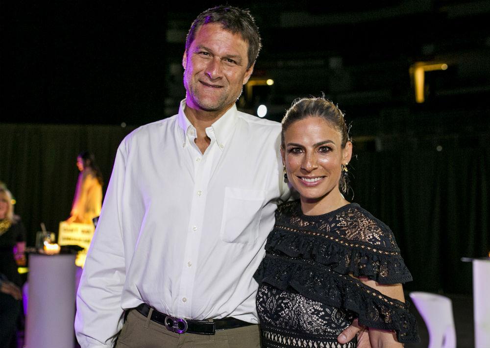 Amaury Velasco y Lucienne Gigante. (Foto: Xavier García)