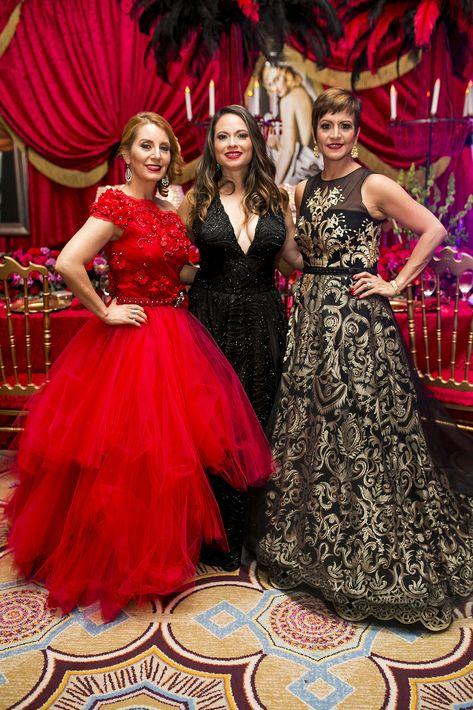 Raquel Espinosa, Blanca Flores y Blanca Portela. (Foto: Xavier García)
