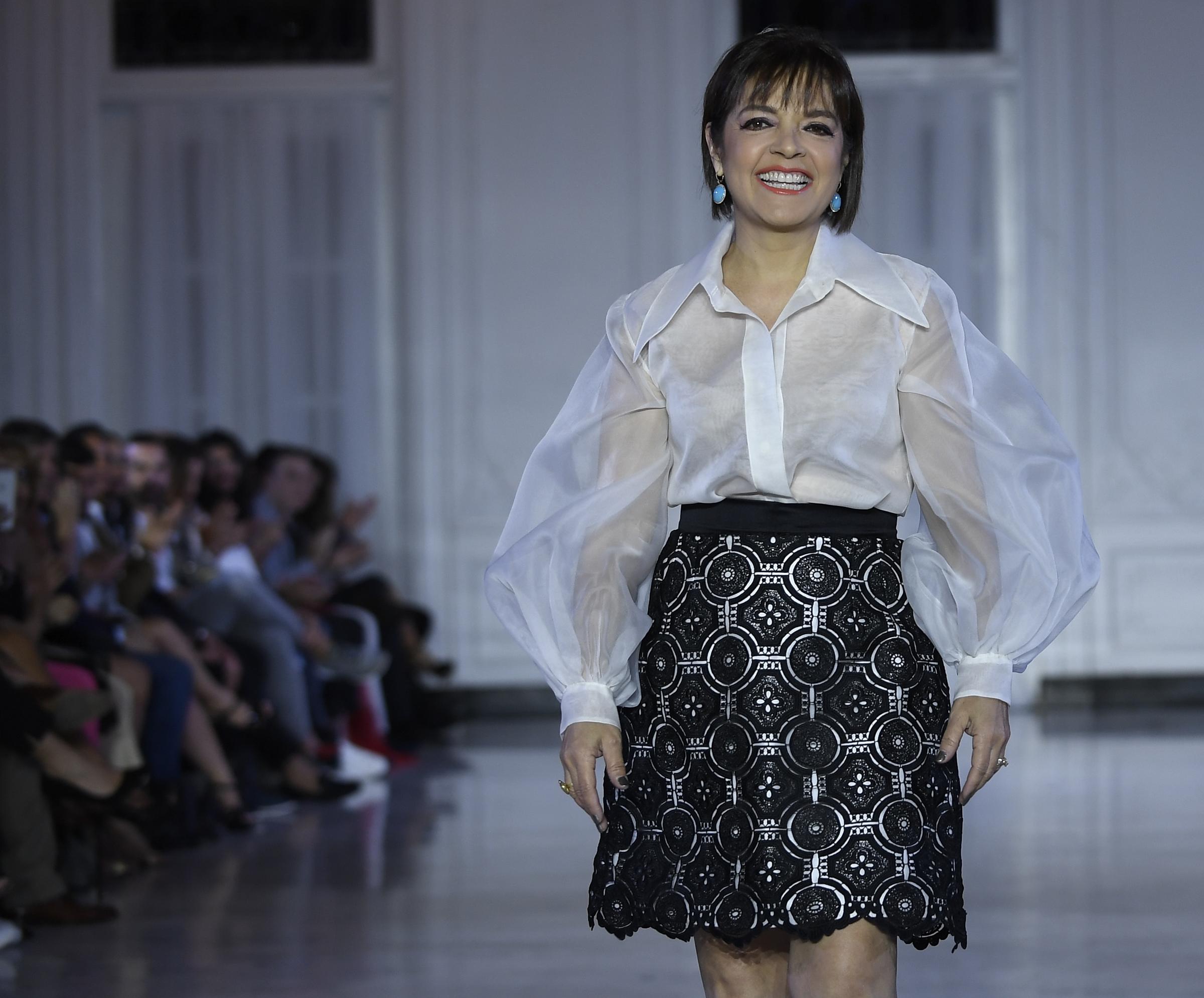 La diseñadora Sonia Santiago. Foto Ángel Luis García