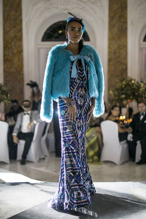 Modelos lucieron creaciones de los diseñadores que presentaron en esta temporada de San Juan Moda. Foto Xavier García.