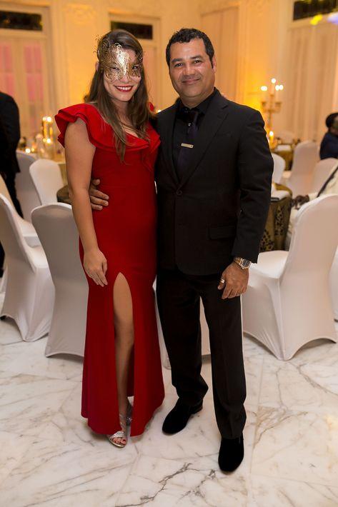 Vanessa López y Luillo Ruiz. Foto Xavier García