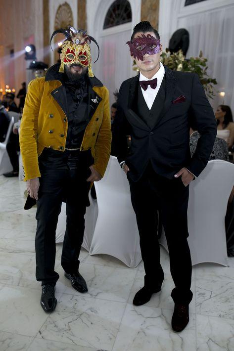 Eddie Guerrero y Luis Mojica. Foto Xavier García
