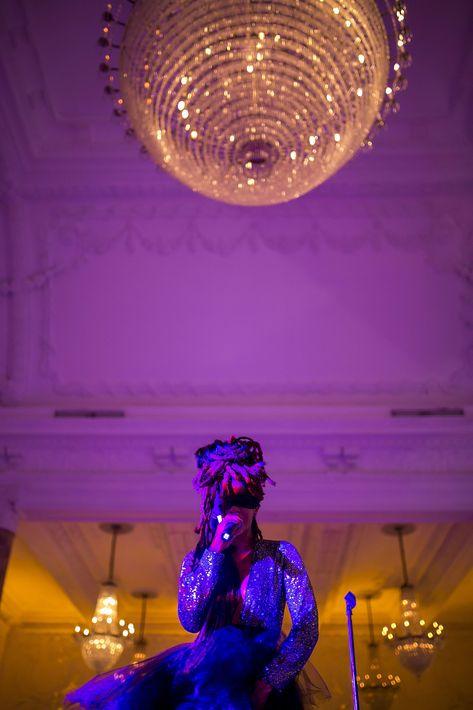 Calma Carmona presentó un mini concierto. Foto Xavier García