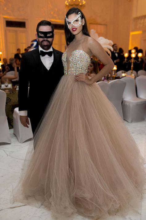 Carlos Bermúdez y Stephanie del Valle. Foto Xavier García