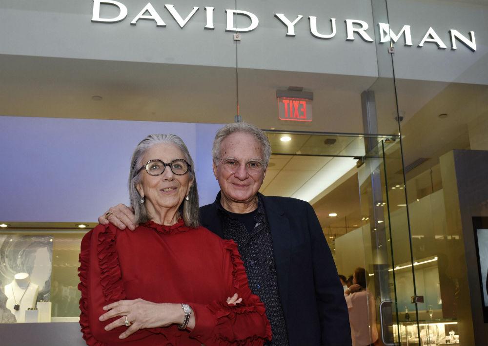Marie Helene Morrow y David Yurman, quienes disfrutan de una amistad que ha trascendido por 40 años. (Foto: Ingrid Torres)