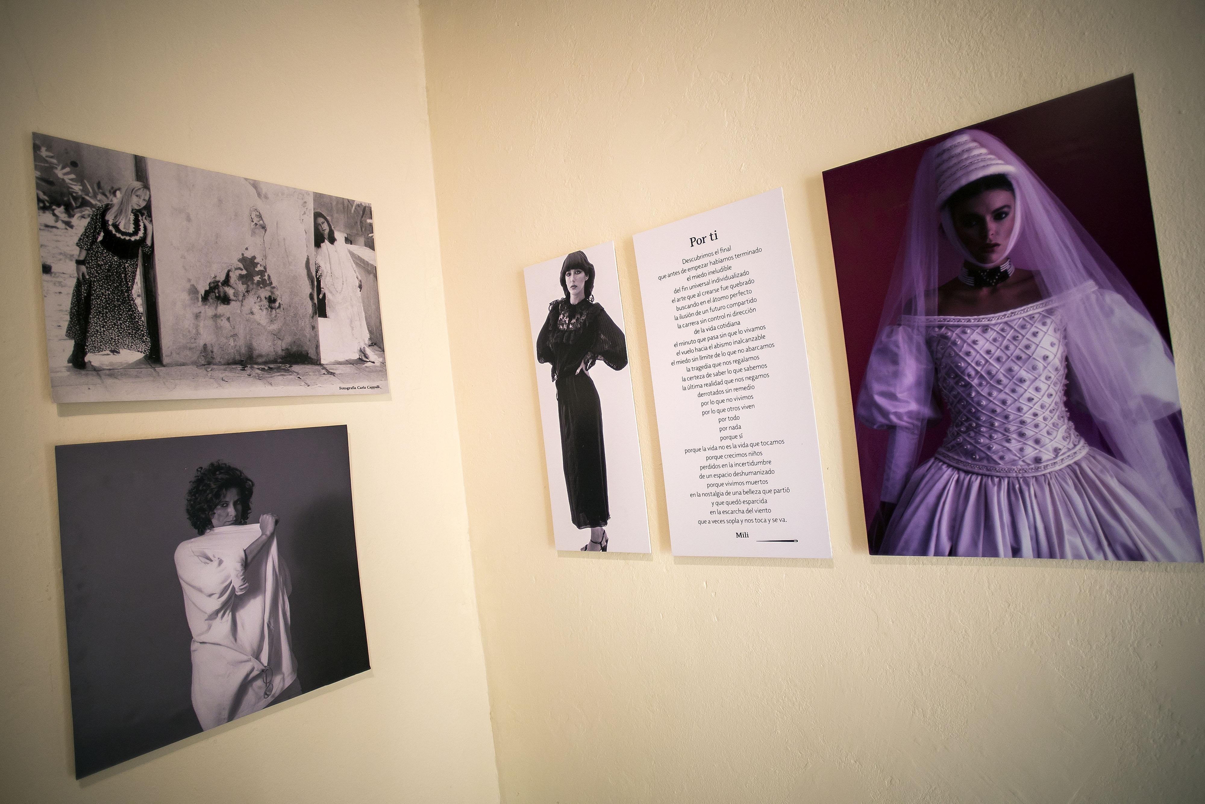 """La exposición es una continuación del libro """"Mujer Mili Milagros"""" que publicó a finales del año pasado. (Foto: Xavier García)"""