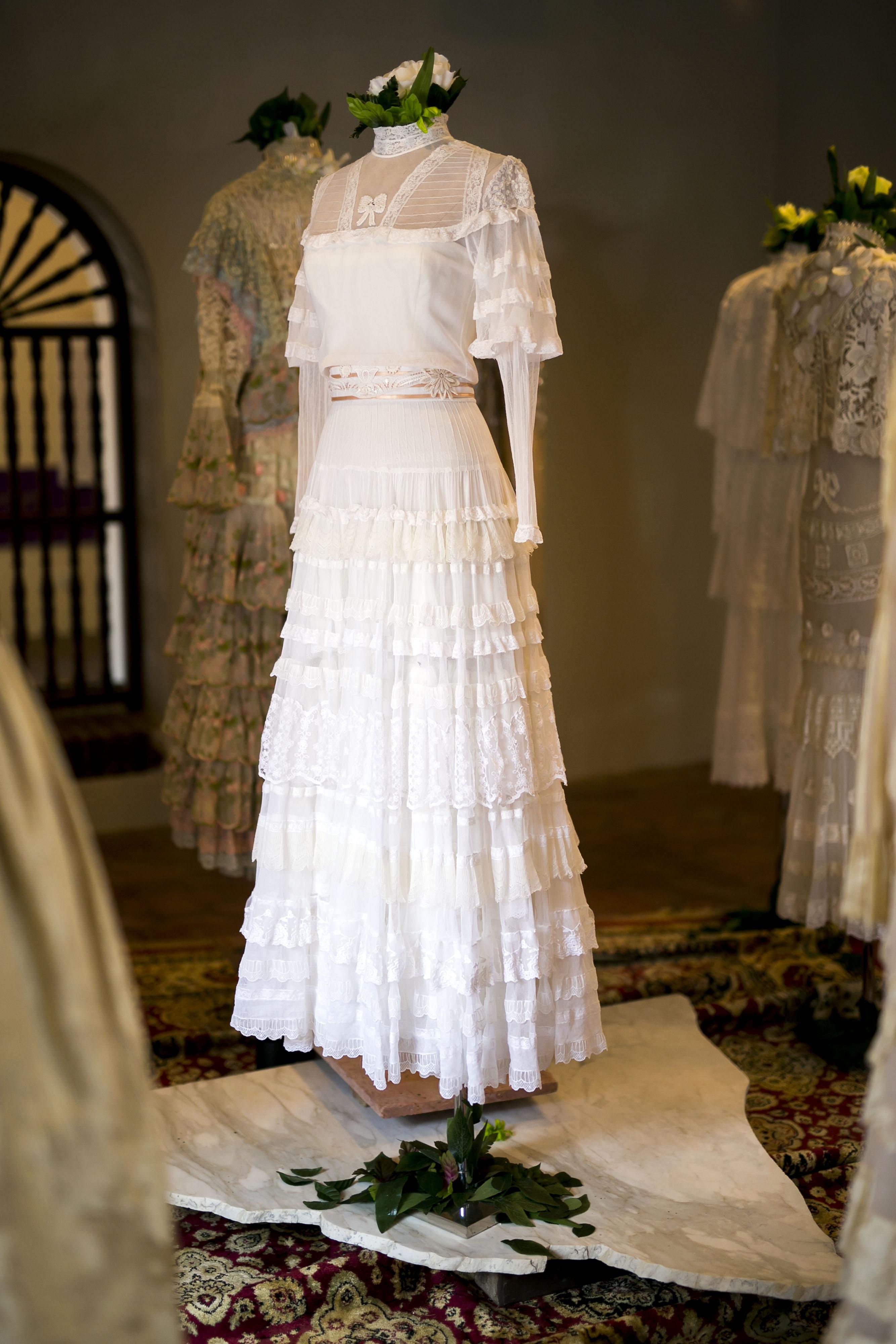 El encaje era uno de los textiles favoritos de Arango. (Foto: Xavier García)