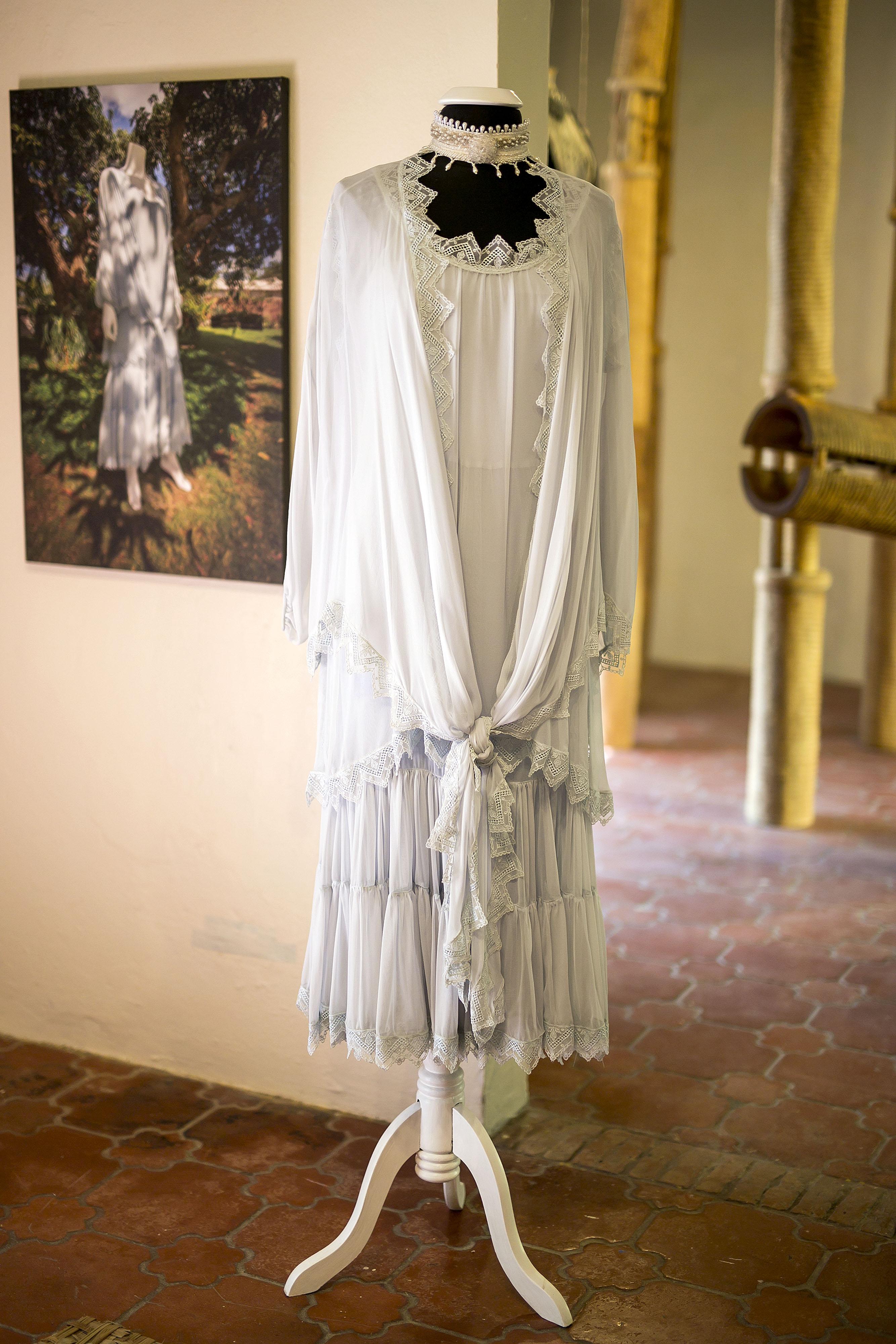 En la exhibición hay vestidos que pertenecen a una colección especial de Cappalli y piezas de algunas de las clientas de Arango que fueron prestadas para la ocasión. (Foto: Xavier García)