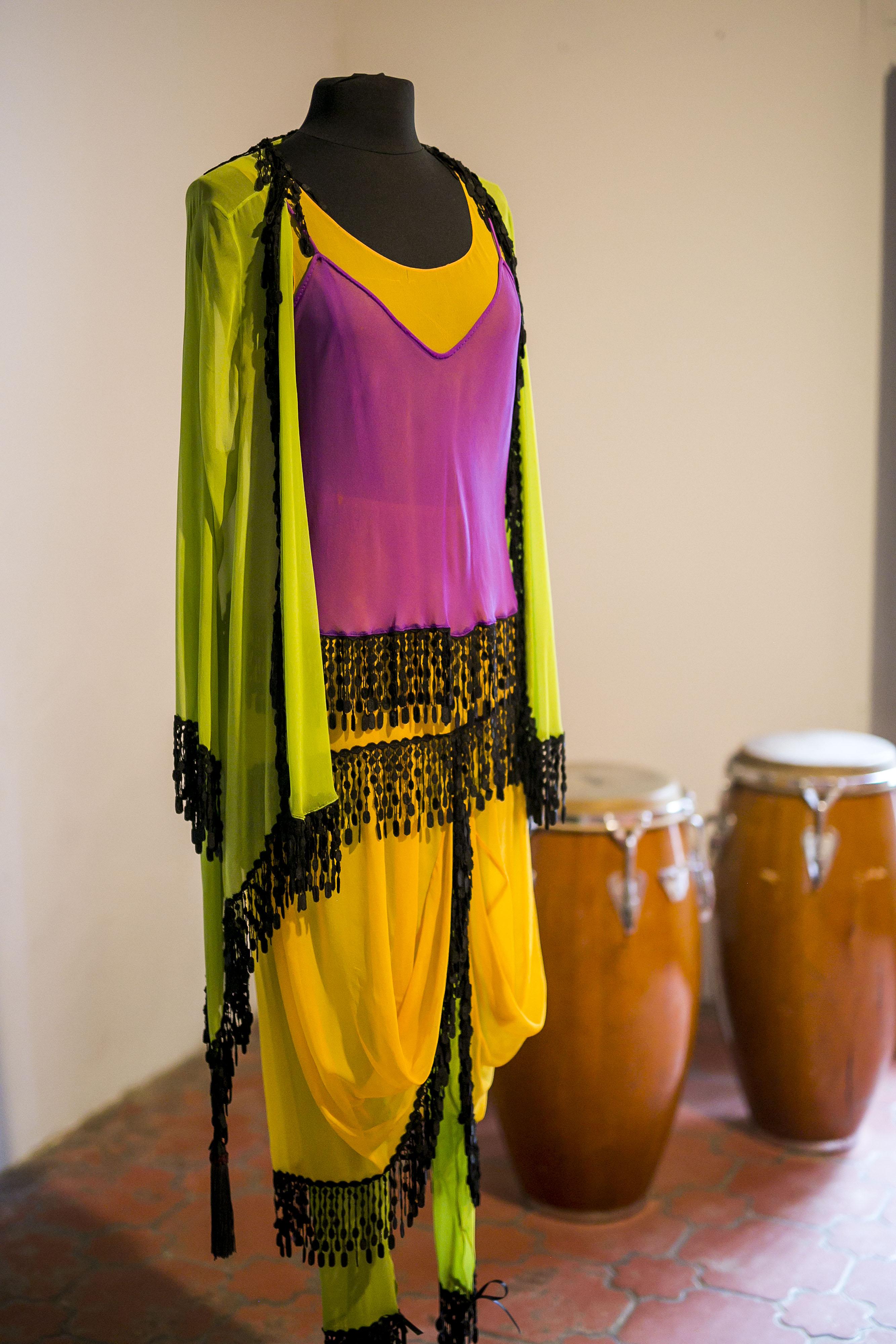 El colorido también se vio en algunas de las creaciones de Arango. (Foto: Xavier García)