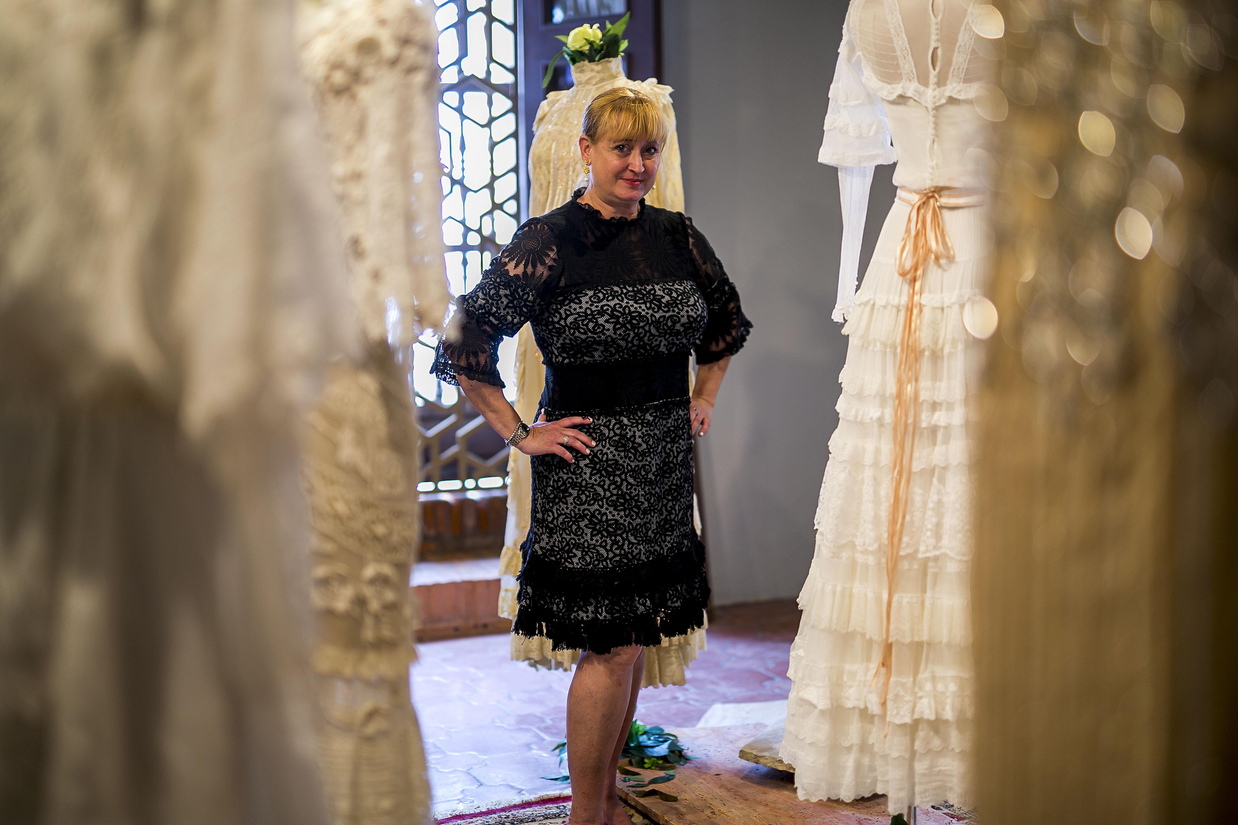 Tanto la exposición como el libro fueron creados por Lisa Cappalli, hija de la diseñadora y artista Mili Arango. (Foto: Xavier García)