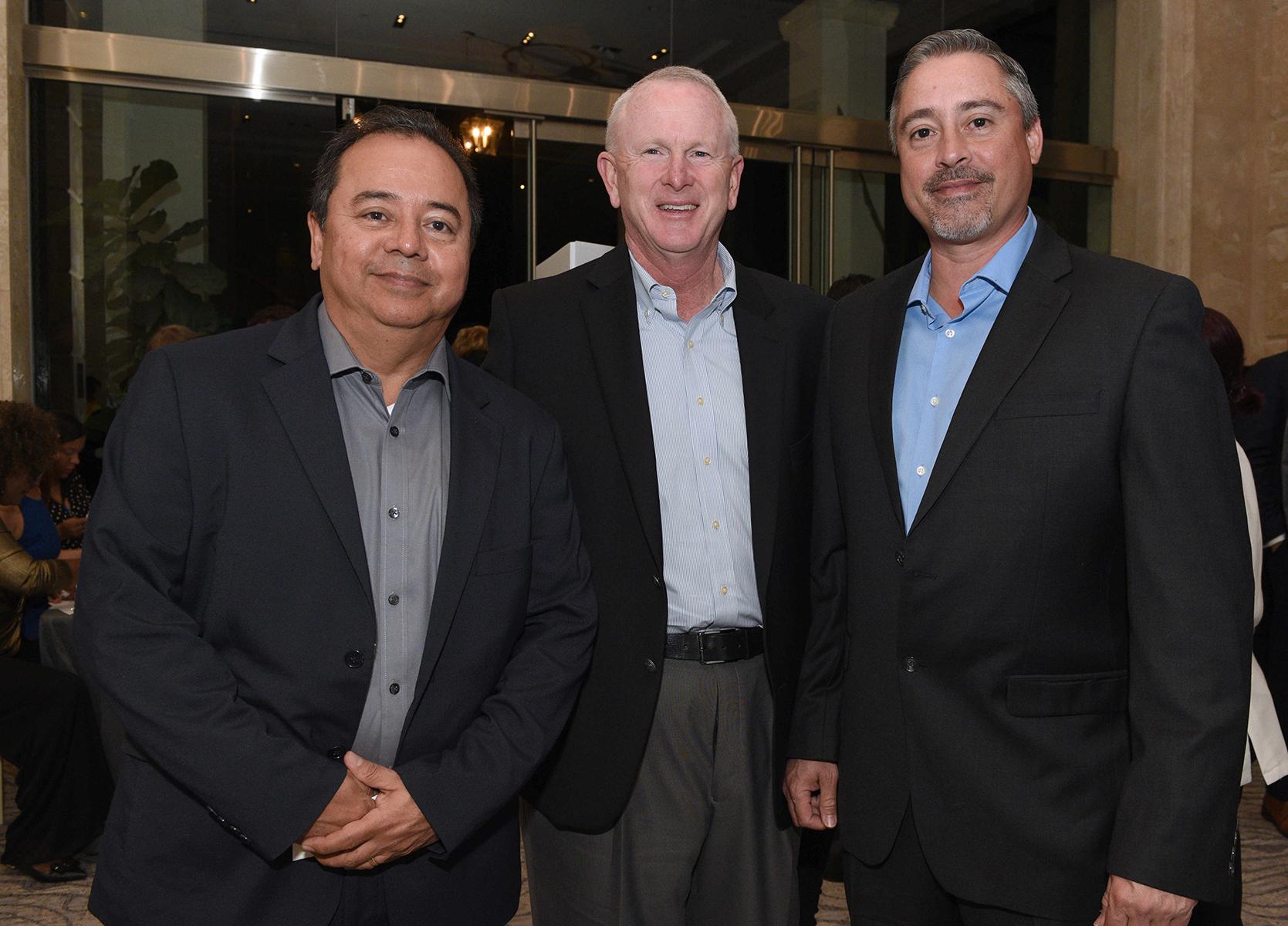 Marcelo Zamora, Tom Tighe y Ernesto Rivera. (Fotos: Ingrid Torres)