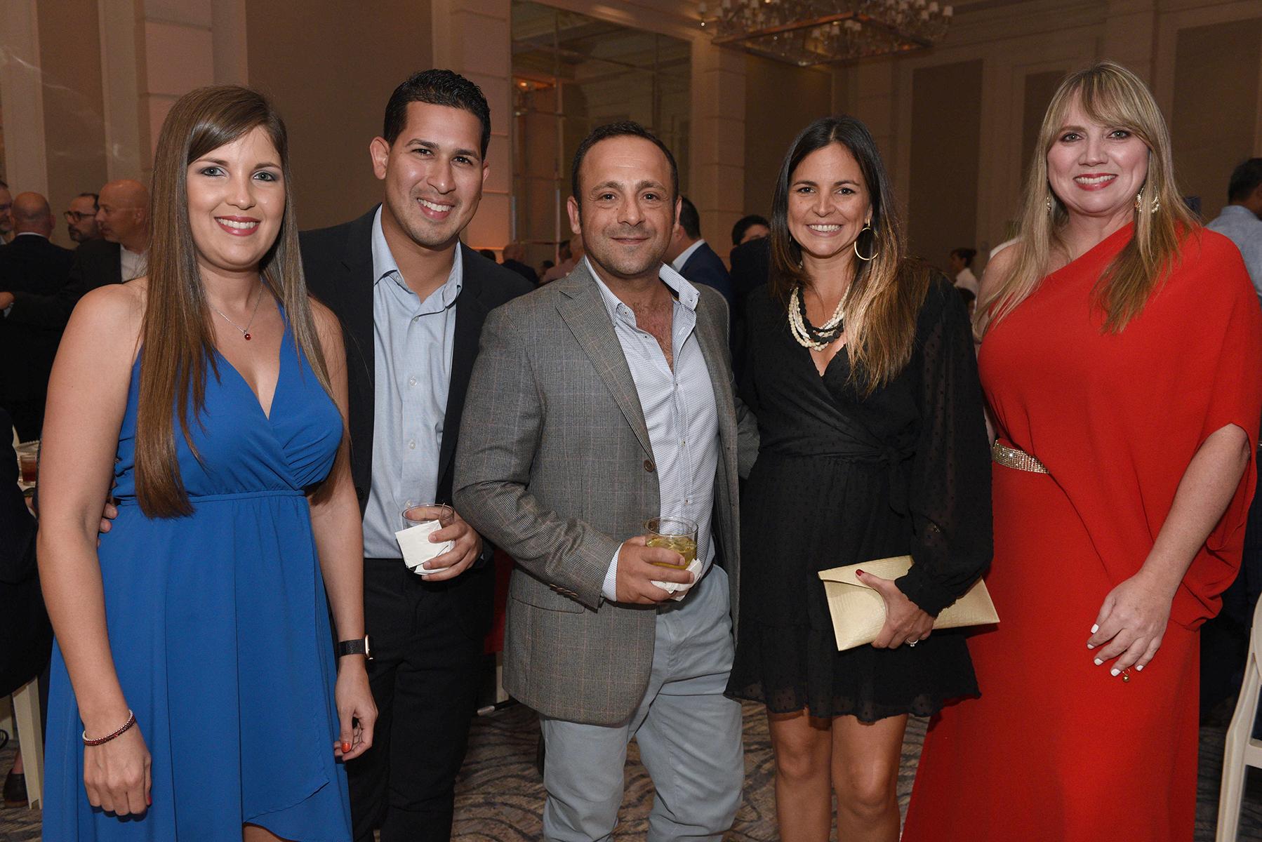 Wilayra Colón, Christian Jiménez, Luiggi Costante, Carmen Morales y Michelle Maranges. (Fotos: Ingrid Torres)