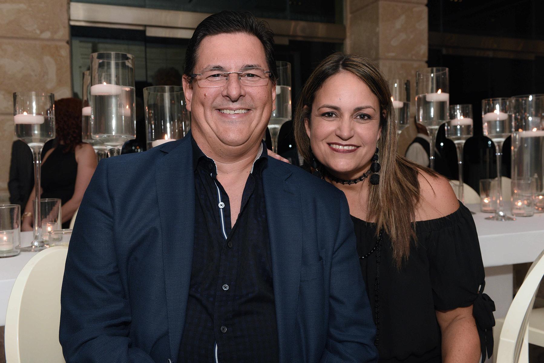 Antonio Medina y Nydia Fernández. (Fotos: Ingrid Torres)