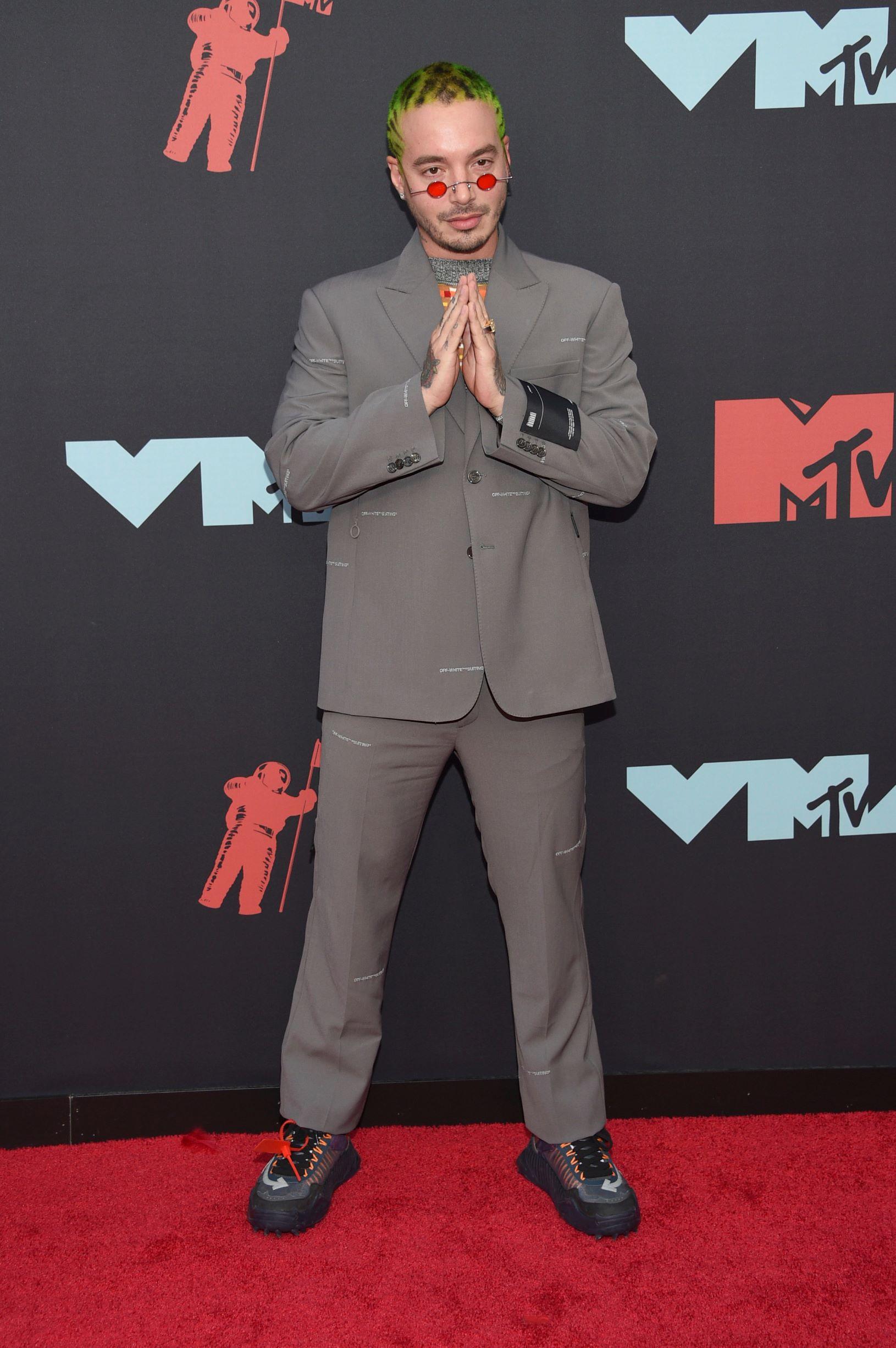 El rapero colombiano J Balvin (AP)