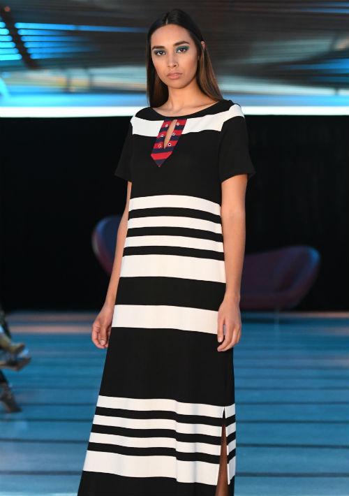 """El estilo relajado, juvenil y """"sporty chic"""" que caracteriza los diseños de la modista boricua, Miriam Budet, fueron una constante en la colección """"Resort"""" que presentó recientemente. (luis.alcala@gfrmedia.com)"""