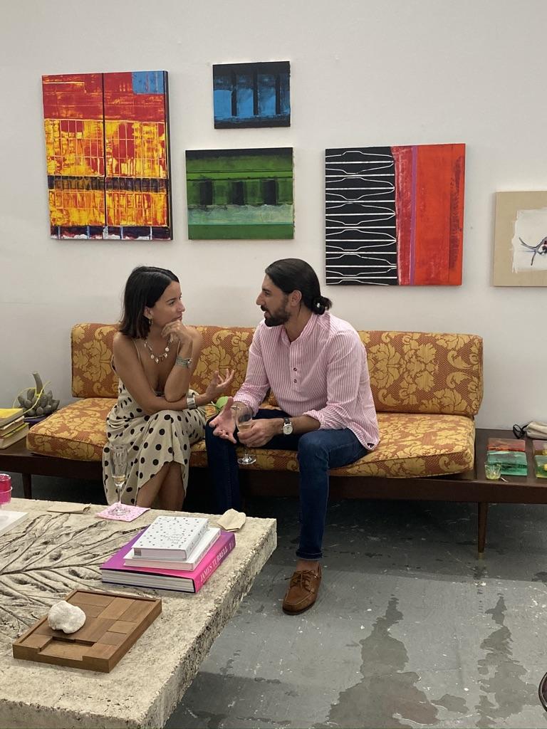 El evento brinda una oportunidad de conocer y conectar con nuestros artistas en sus espacios de creación. Foto suministrada