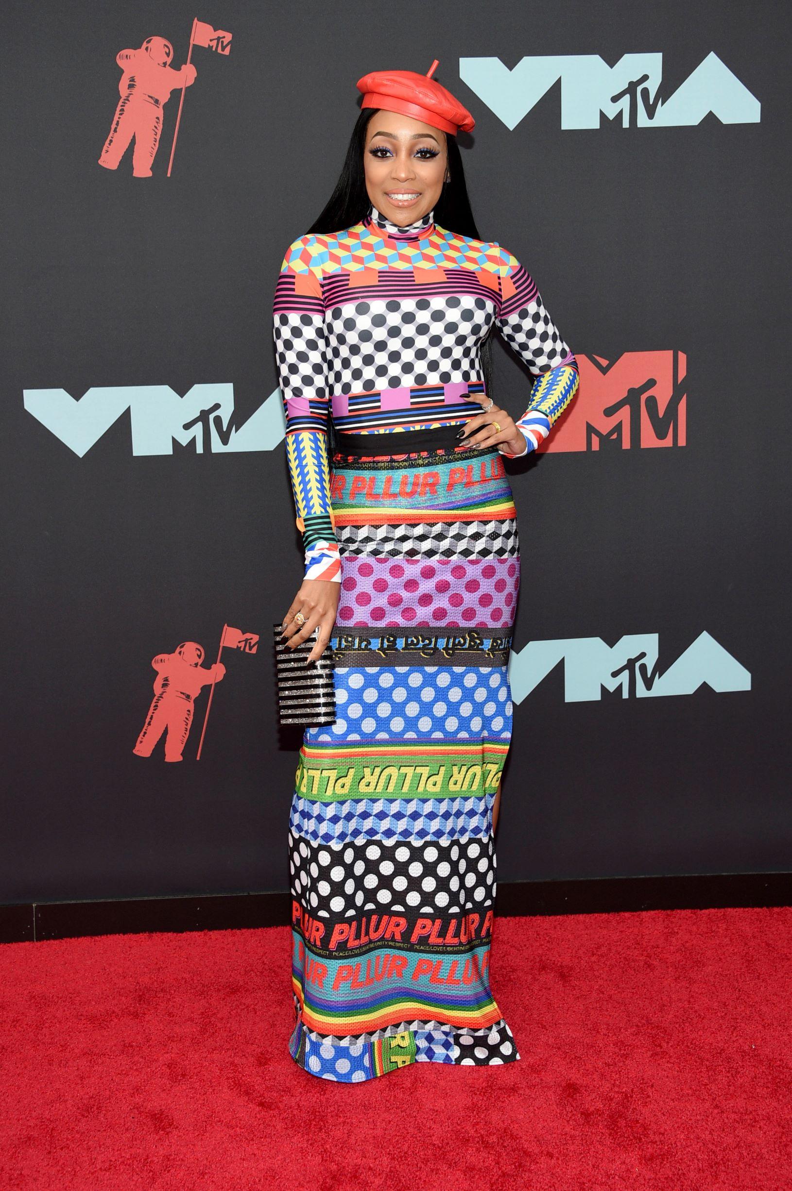 La cantante de R&B,  Monica (AP)