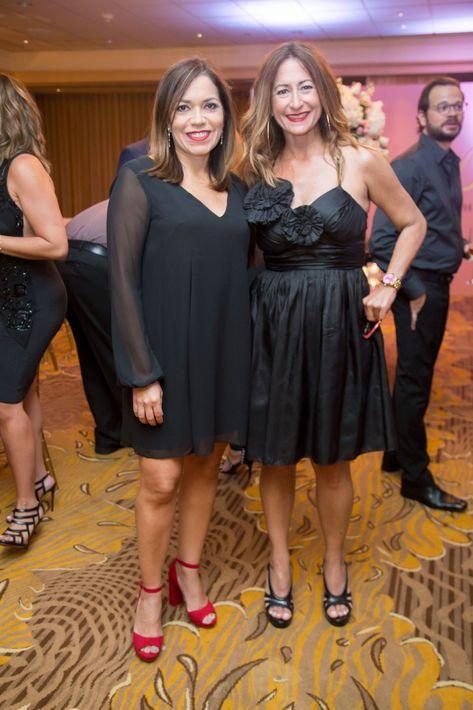 María de Gracia Martínez y Carola Abreu. Suministrada