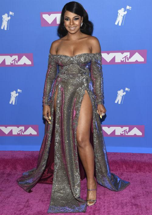 La cantante Ashanti. (AP)