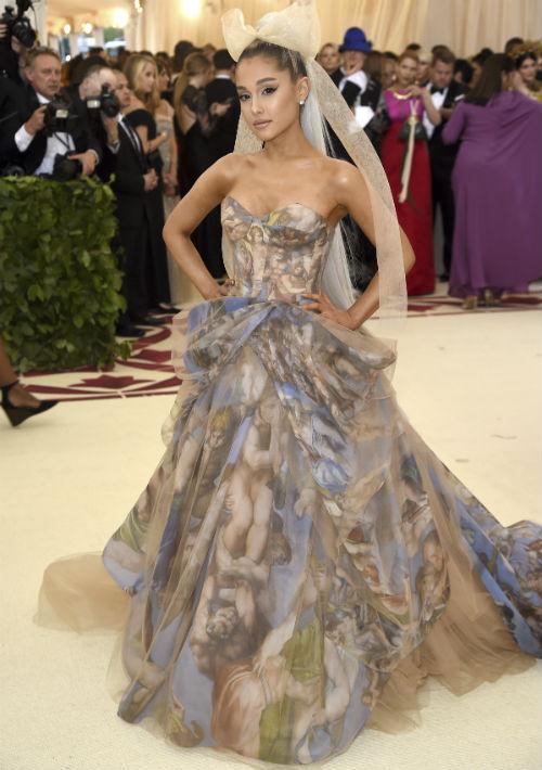 La cantante Ariana Grande (AP)