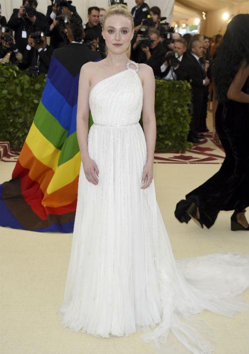 La actriz Dakota Fanning (AP)