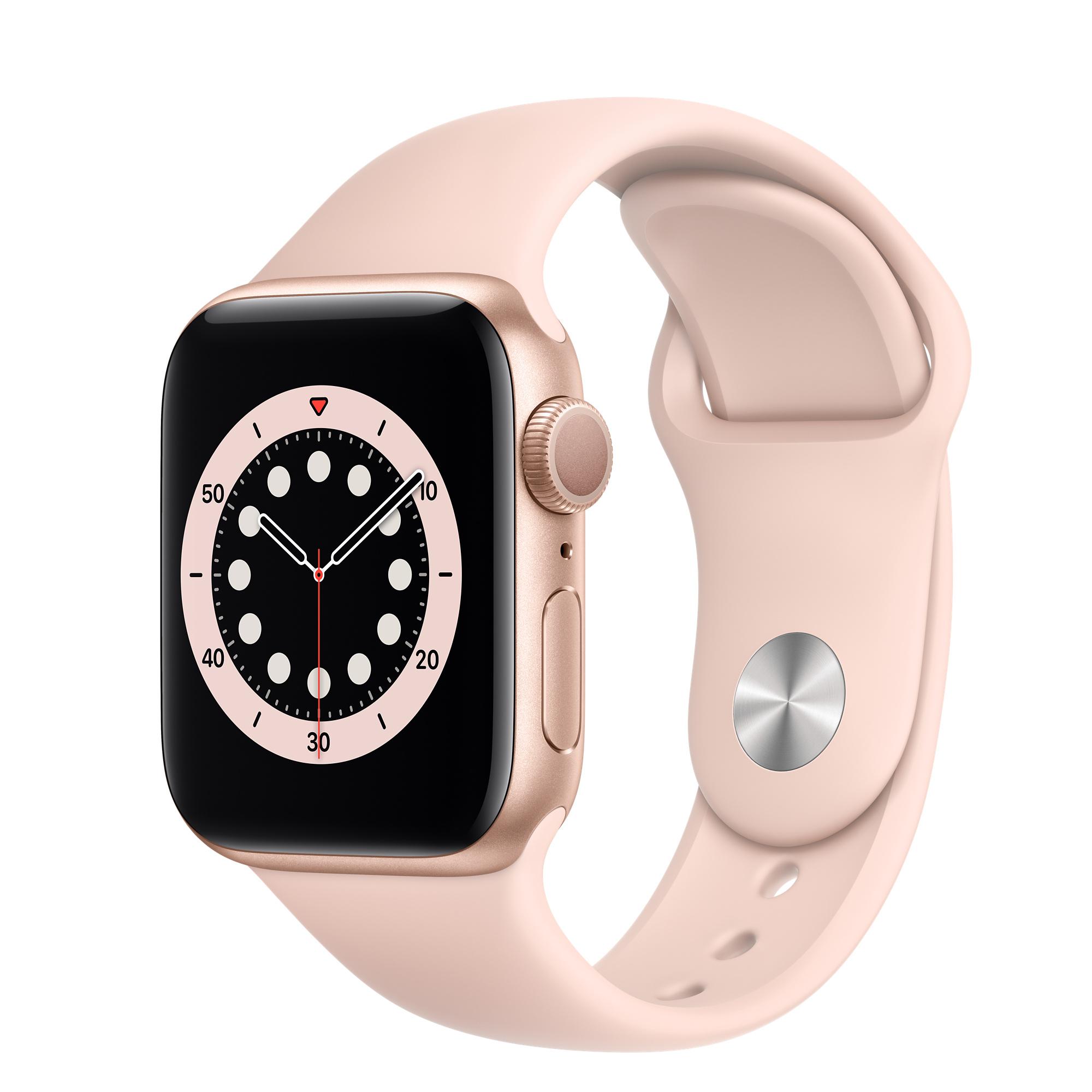Apple iWatch, serie 6 disponible en línea y en tiendas de electrónicos.