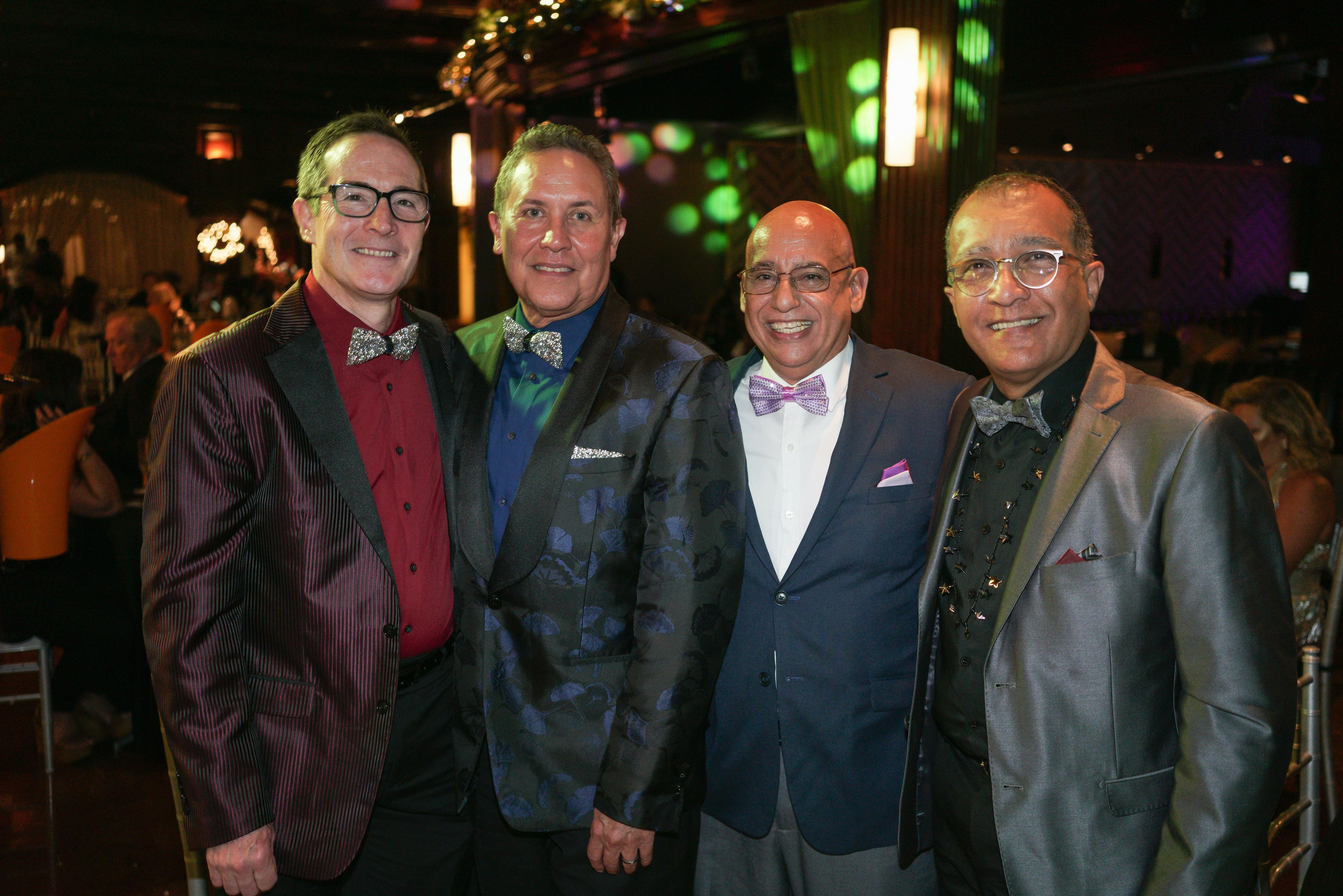 Ken O'Brien, Jaime Huertas, John Stephen Ginorio y Abraham Rivera. (Suministrada)