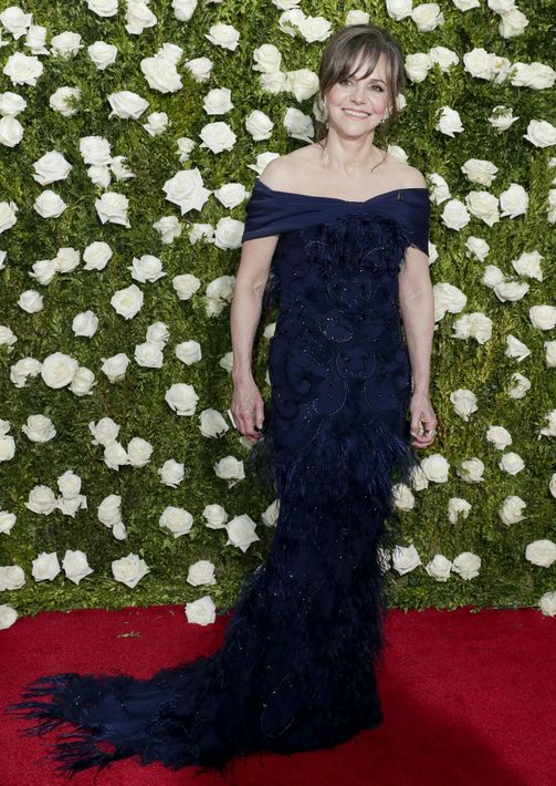 Sally Field en Christian Siriano.