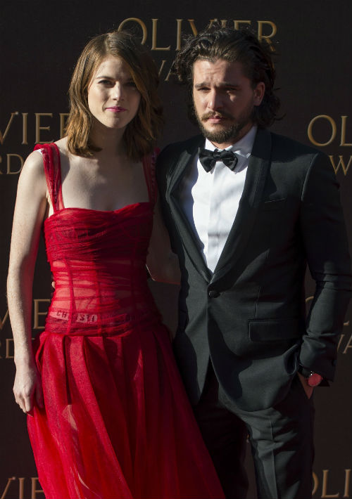 "Kit Harington y Rose Leslie, actores de la serie ""Game of Thrones"", anunciaron su compromiso a través de un comunicado en ""The Times"" a finales de septiembre, en la sección de próximos matrimonios del diario londinense, aunque sin desvelar el lugar ni el día del enlace. (Foto: EFE/Will Oliver)"