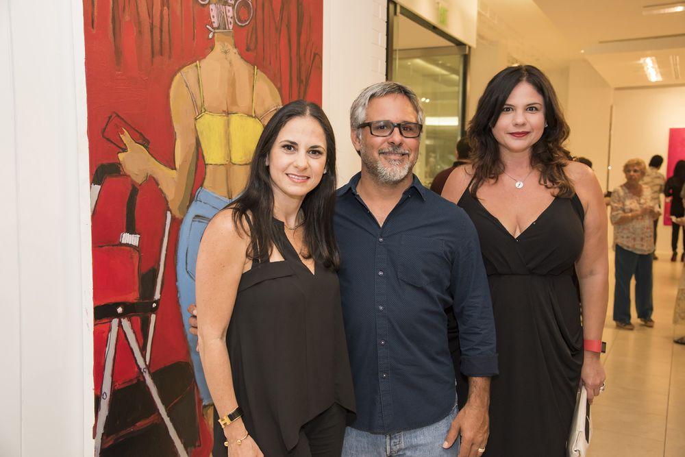 Jennifer Rodríguez, Miguel Otero, Haydée Masini. (Foto: Suministrada)