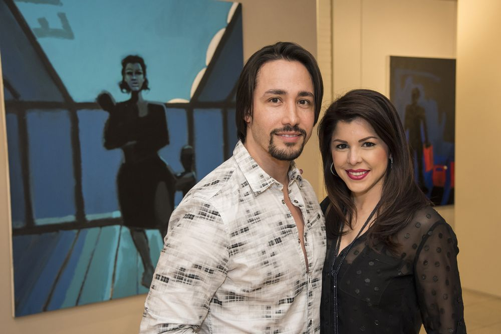 Daniel González y Rebecca Lozada. (Foto: Suministrada)