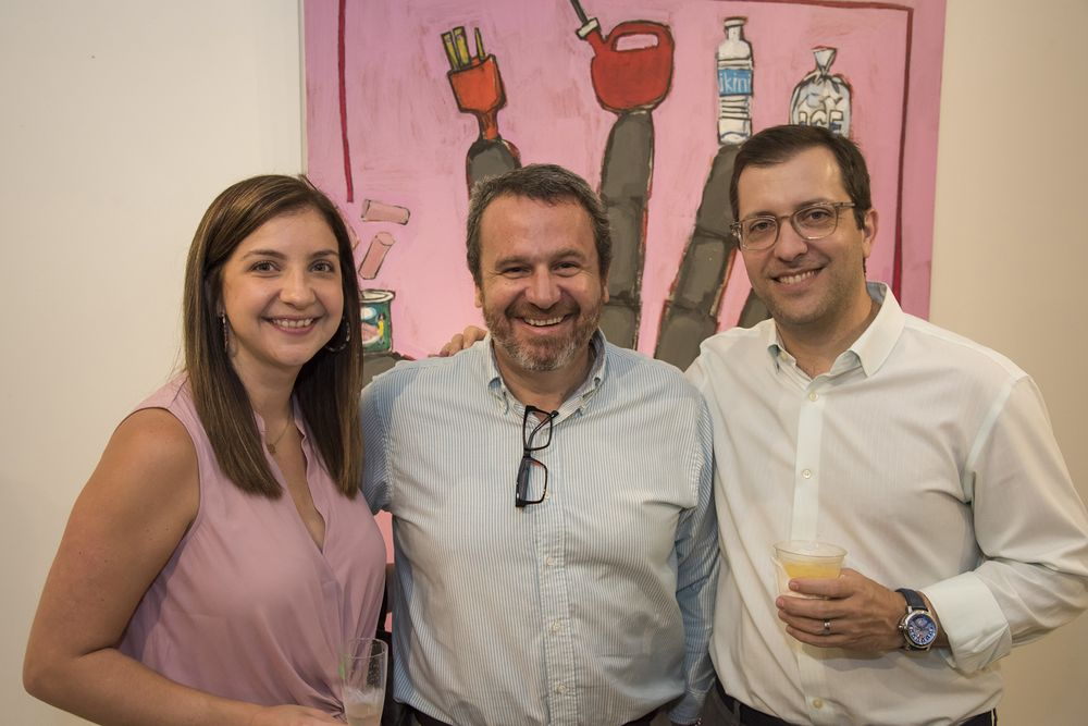 Alexandra Ramírez de Arrellano, Edgardo Palerm y Jorge Benítez. (Foto: Suministrada)
