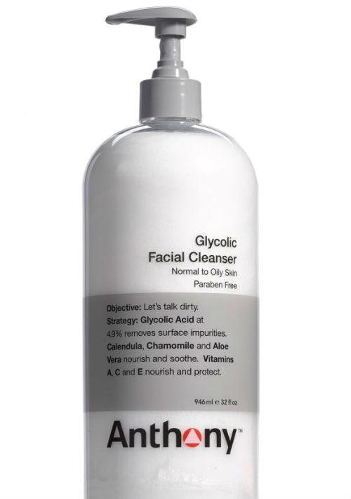 Limpiadora para el rostro con ácido glicólico y vitaminas Anthony de Nordstrom. (Foto: Suministrada)