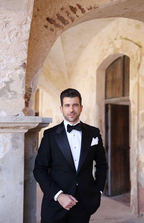 El clásico atuendo del novio, Ricardo Casanova, fue de Leonardo Fifth Avenue, Fotografia: Keren Photography