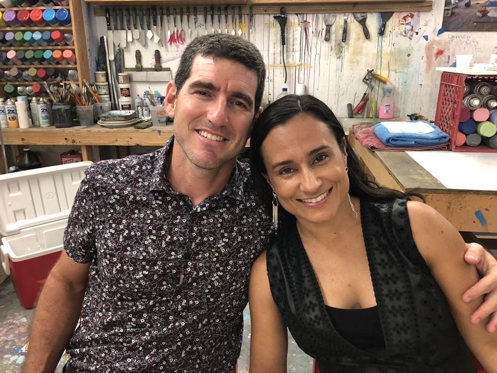José Busquets y Ginette Palés. Foto suministrada